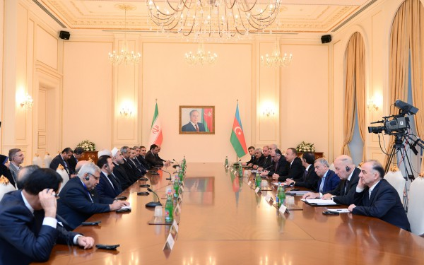 Azerbaijan, Iran determined to expand cooperation