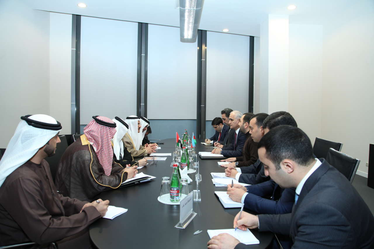 Azerbaijan, UAE interested in mutual investments (PHOTO)
