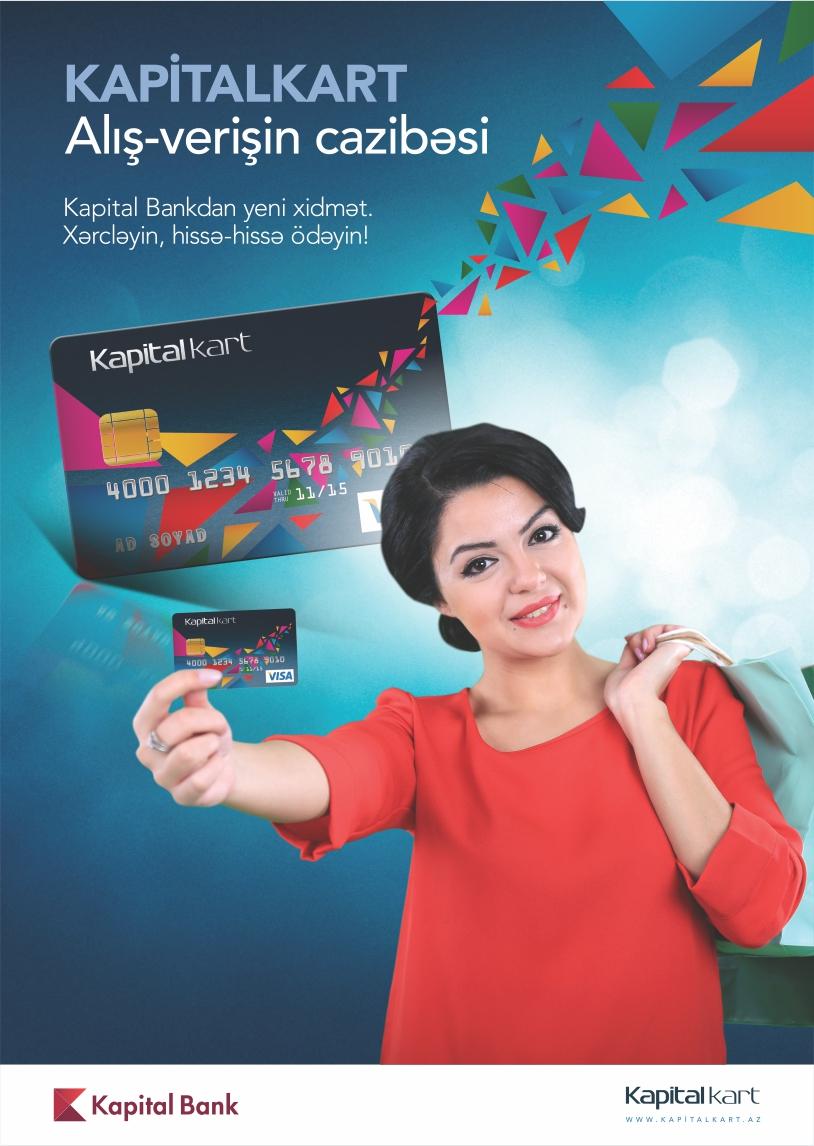 Azerbaijani Kapital Bank offers new credit card