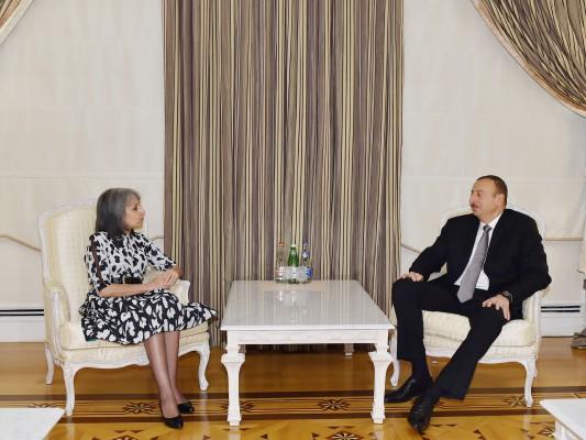 Azerbaijani president receives Bulgarian vice president