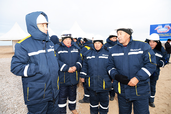 Kazakh company to deliver gas to settlements along main gas pipeline (PHOTO)
