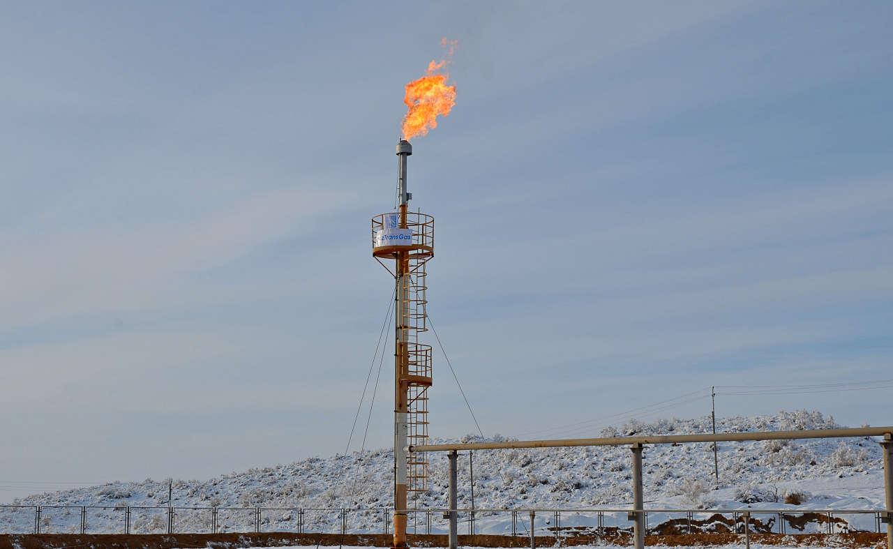 Kazakhstan starts new gas field operation (PHOTO)