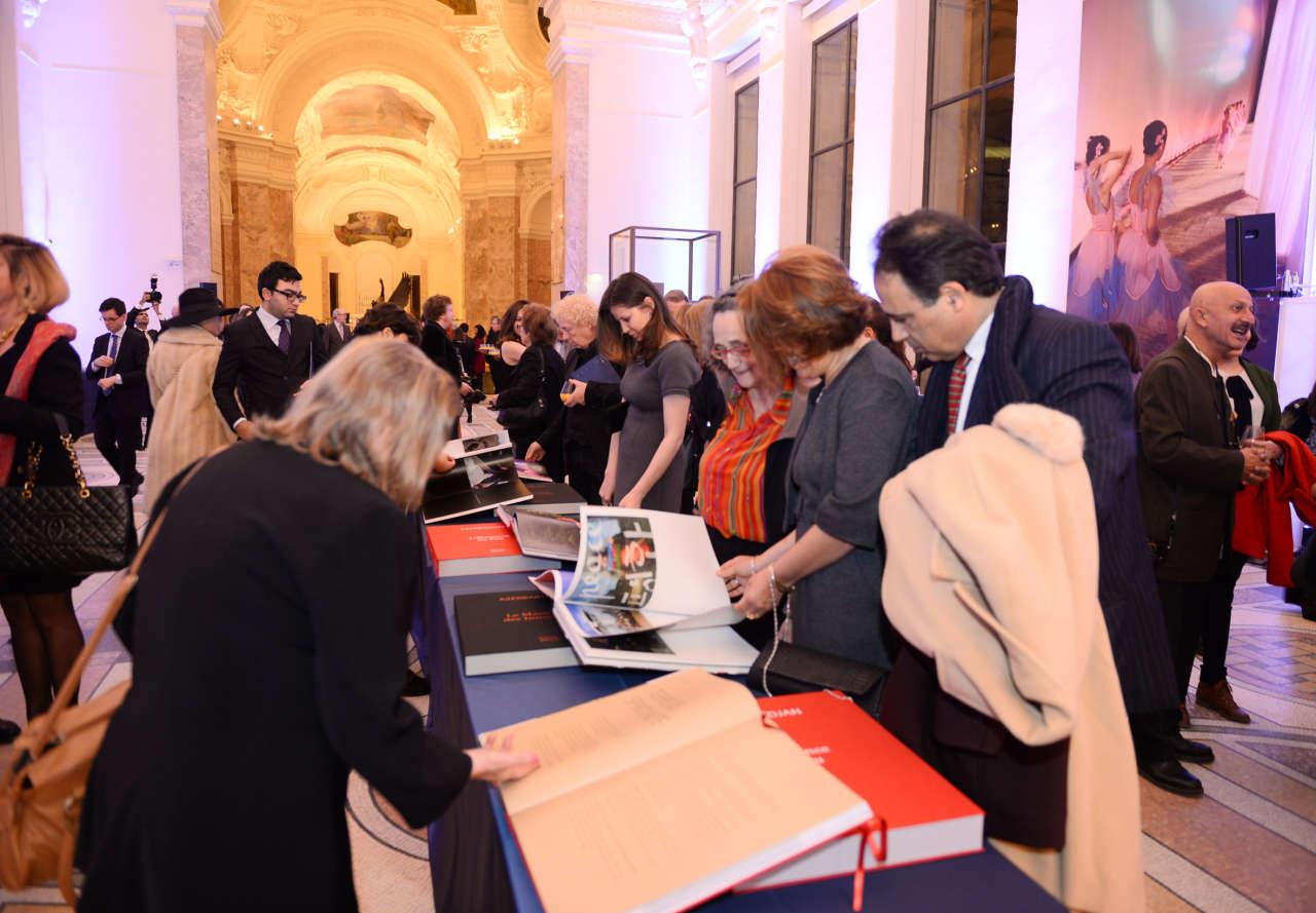 Mehriban Aliyeva, Leyla Aliyeva attend presentation of Reza Deghati's photo exhibition