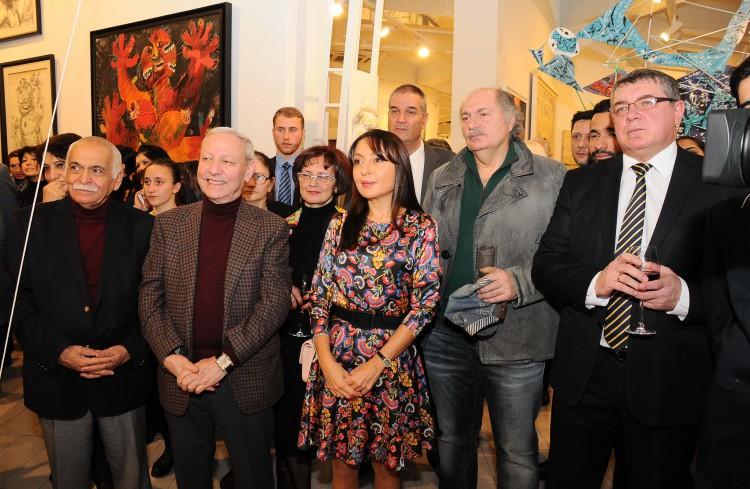 Персональная выставка Сабины Шихлинской «Иллюзии» (ФОТО)