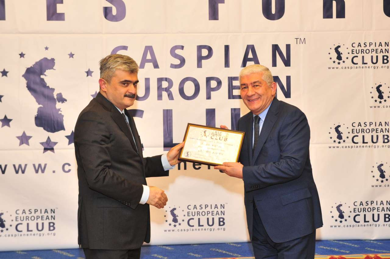 """Bank of Baku"" ""Caspian European Club"" təşkilatına daxil olub (FOTO)"