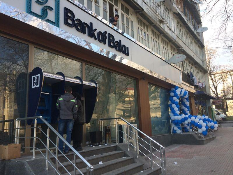 """Филиал """"Bank of Baku"""" в Шеки переехал на новый адрес"""