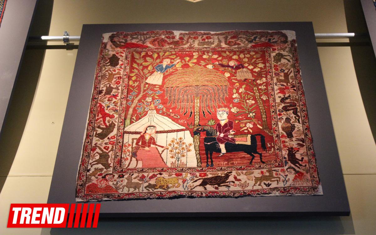 Азербайджанские сказки, фольклор, герои эпосов и философы древности на коврах (ФОТО)