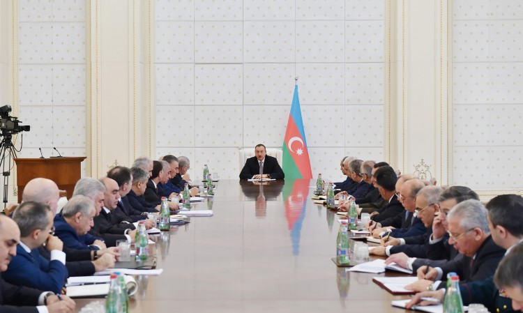 President  Aliyev sums up results of 2014 in Azerbaijan (PHOTO)