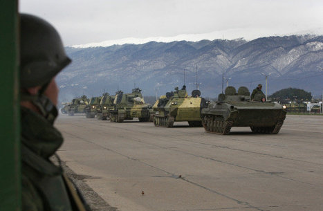Russian military spending falls 20 percent, says think tank