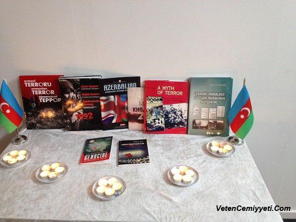 Danimarkada 20 Yanvar şəhidlərinin xatirəsi anılıb (FOTO)