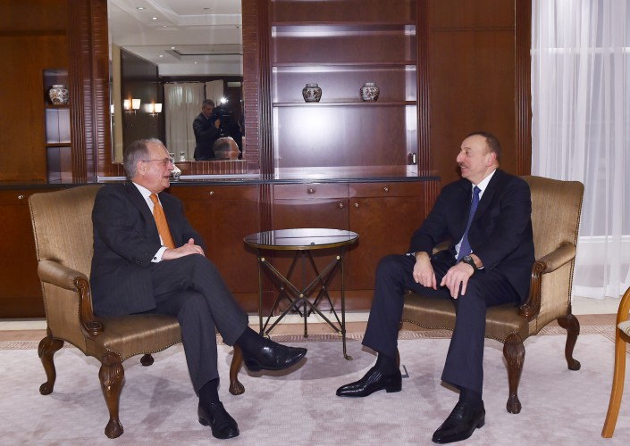 President Aliyev meets with chairman of Munich Security Conference