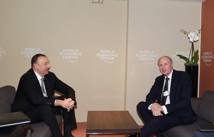 Президент Азербайджана встретился с генеральным исполнительным директором компании bp