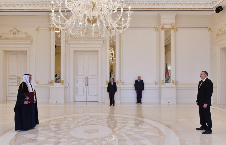 President Aliyev receives credentials of newly-appointed Qatari ambassador