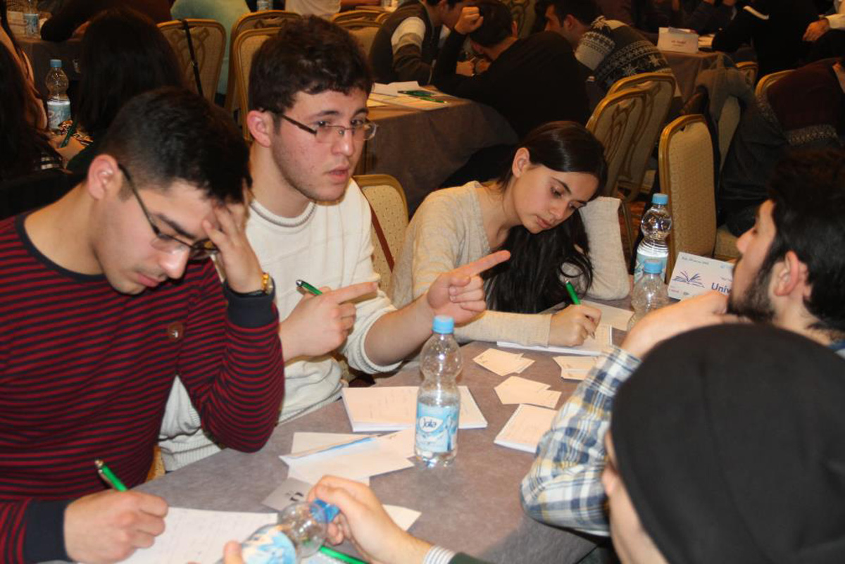 """""""What? Where? When?"""" student games held with support of Bakcell (PHOTO)"""