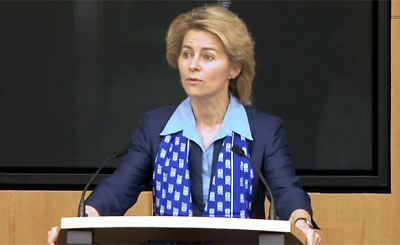 Фон дер Ляйен сообщила Европарламенту, что готова продлить переговоры с Лон ...