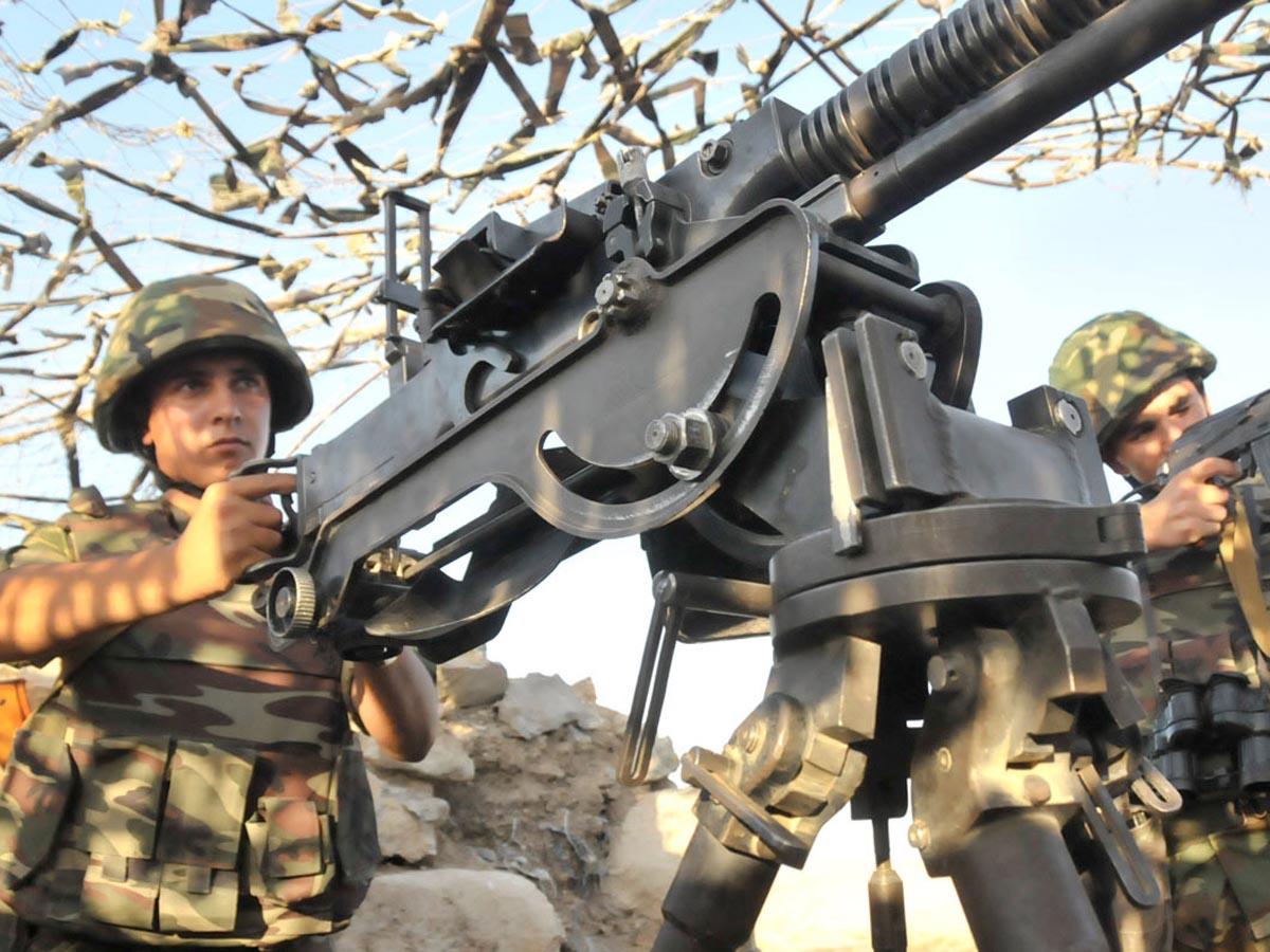 Ermənistan silahlı qüvvələri cəbhədə atəşkəsi 128 dəfə pozub