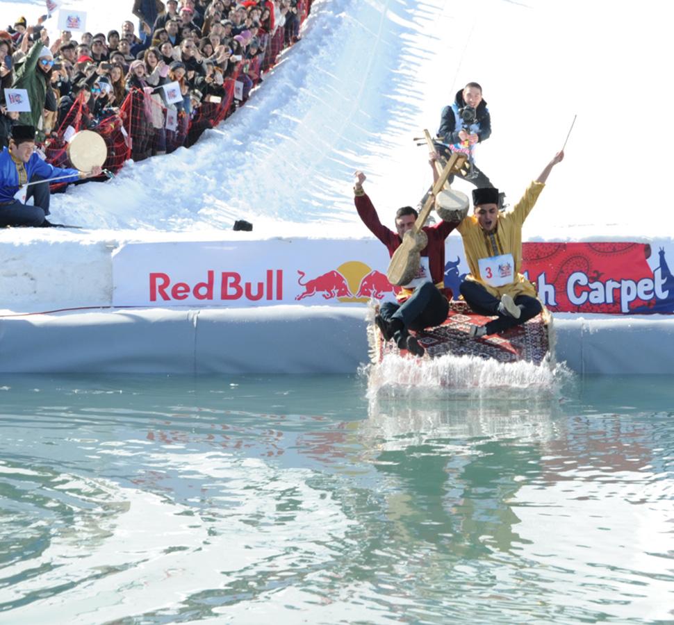 В горах Азербайджана пройдут самые веселые гонки на коврах (ФОТО)