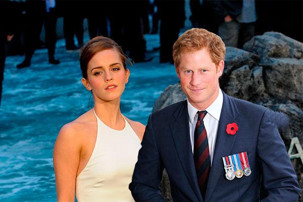 принц гарри и эмма уотсон фото