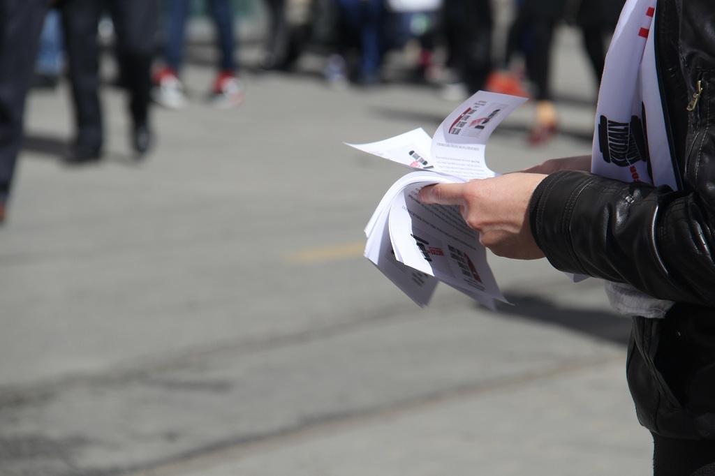 В Стамбуле прошла акция-флэшмоб «Справедливость к Ходжалы» (ФОТО)