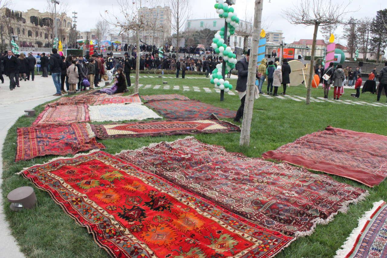 Красочный Новруз объединил тюркоязычные народы в Баку (ФОТО)