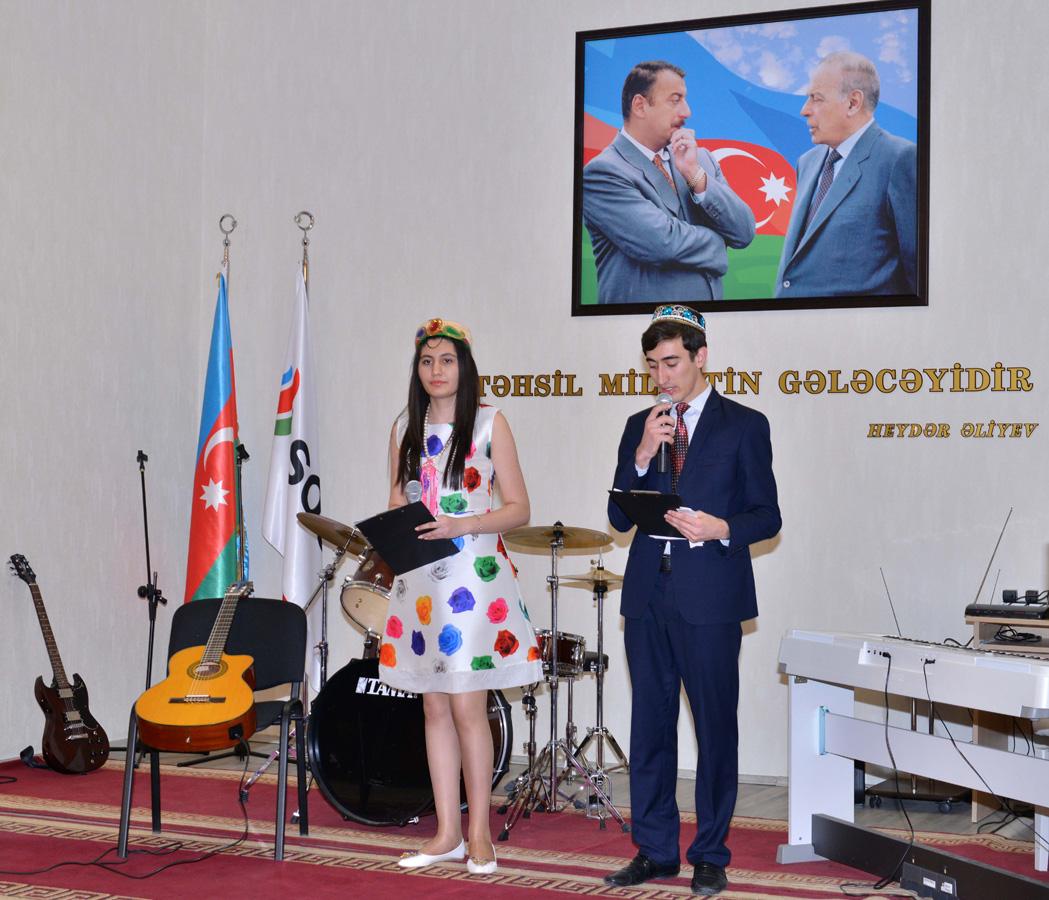 В Бакинской Высшей Школе Нефти отметили праздник Новруз (ФОТО)