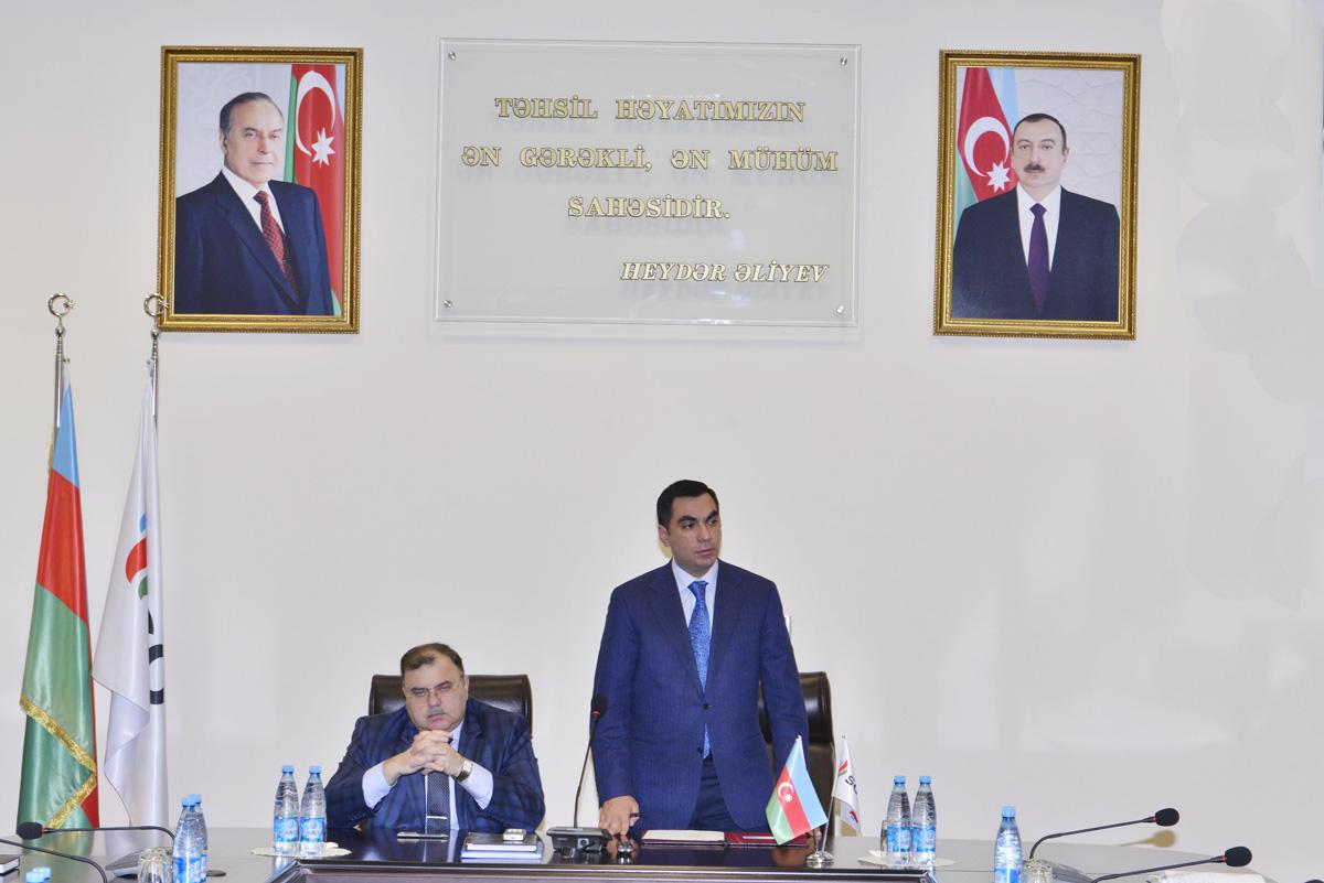 В Бакинской Высшей Школе Нефти учреждена Профсоюзная организация (ФОТО)