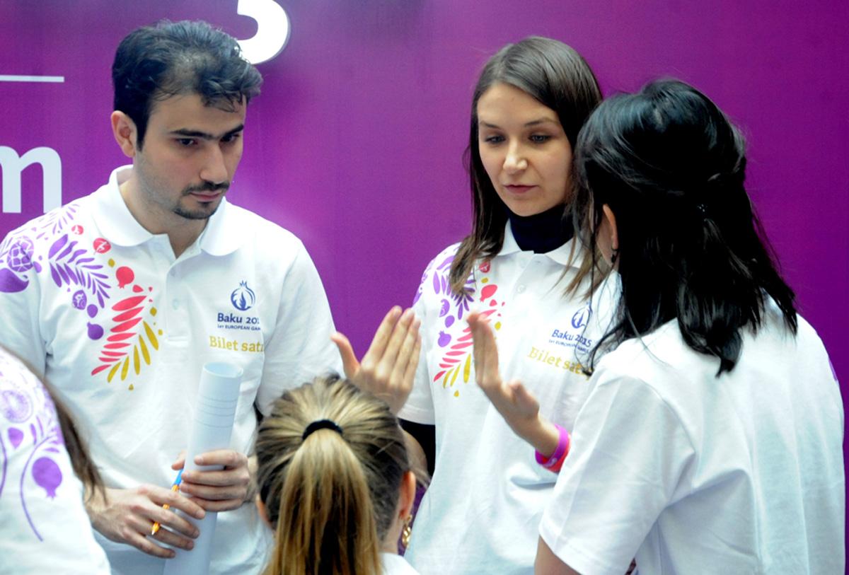 I Avropa Oyunlarına biletlərin kütləvi satışına başlanıldı (FOTO)