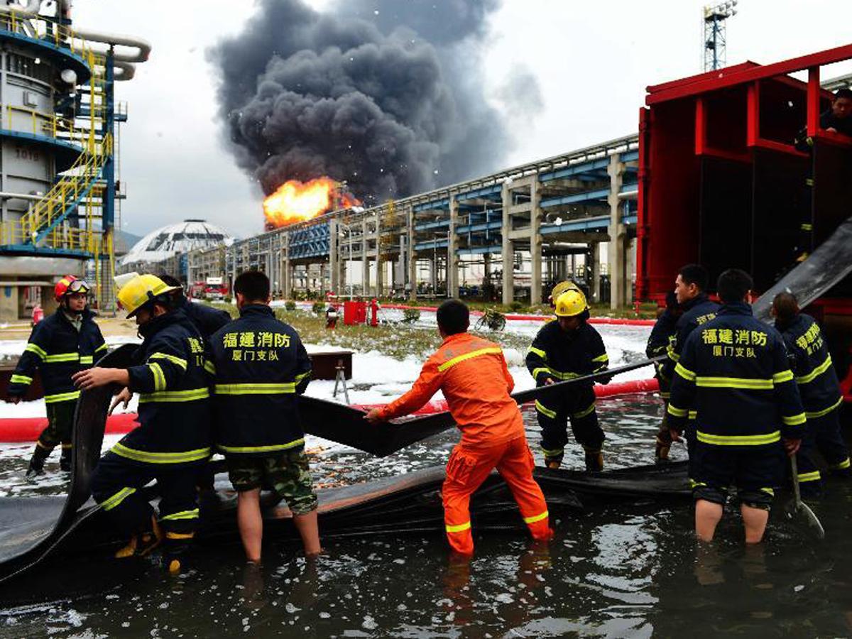 Встолице Китая жертвами пожара стали 19 человек