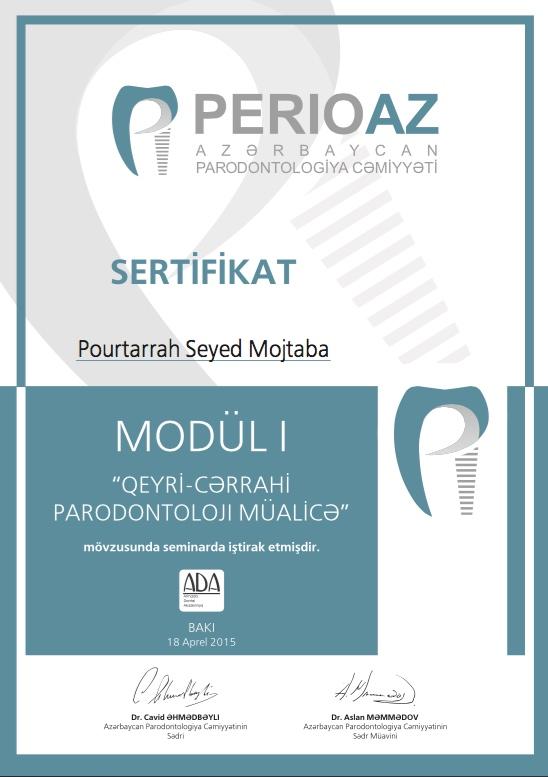 Azərbaycan Parodontologiya Cəmiyyəti tələbə və rezidentlər üçün seminar keçirib (FOTO)