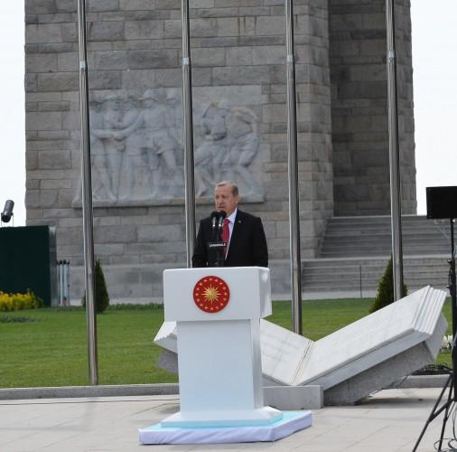 Prezident İlham Əliyev Türkiyədə Çanaqqala zəfərinin 100 illiyi mərasimində iştirak edir (ƏLAVƏ OLUNUB)
