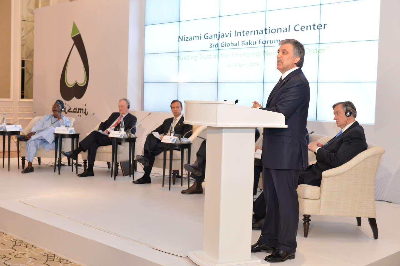 На Глобальном форуме в Баку обсуждались проблемы нового мирового порядка