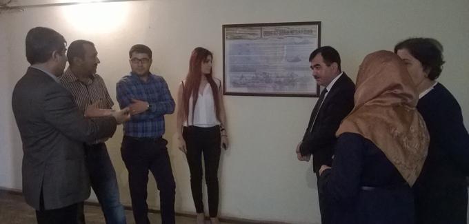 """JEM üç redaksiyaya bildiriş lövhəsi təqdim etdi – """"Bizi düşmən izləyir"""" (FOTO)"""