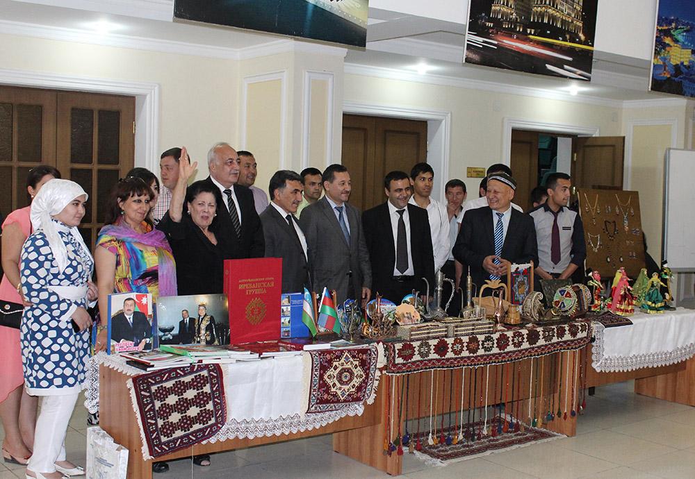 Daşkənd İslam Universitetində Azərbaycan mədəniyyəti təqdim olunub (FOTO)