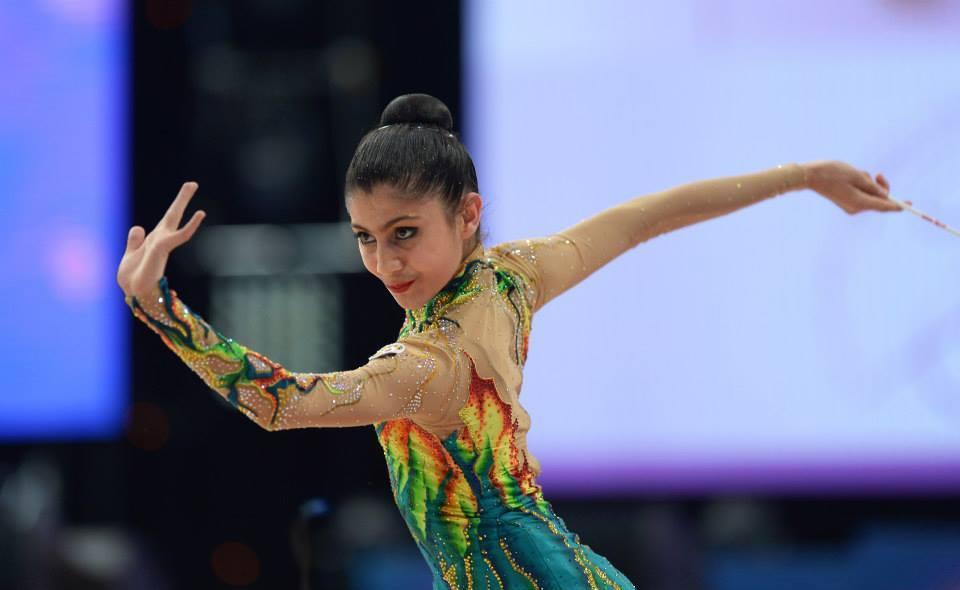 Azərbaycan təmsilçisi bədii gimnastika üzrə XXXI Avropa çempionatında bürünc medala layiq görülüb (FOTO)