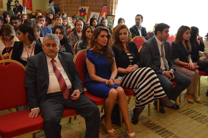 """Gəncə gəncləri """"İlk Avropa Oyunlarına yaradıcı dəstək Festivalı"""" keçirib"""