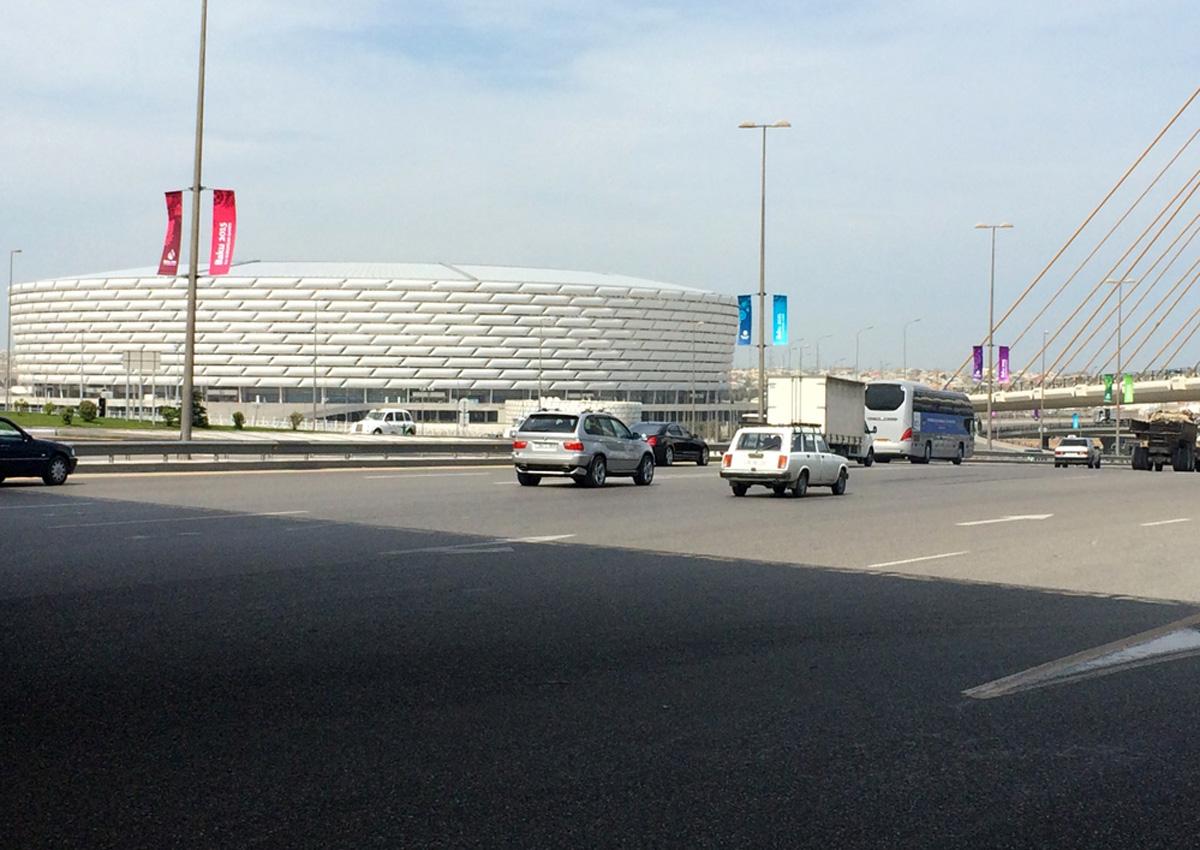 Paytaxt Bakı İlk Avropa Oyunları əhval-ruhiyyəsində (FOTO)