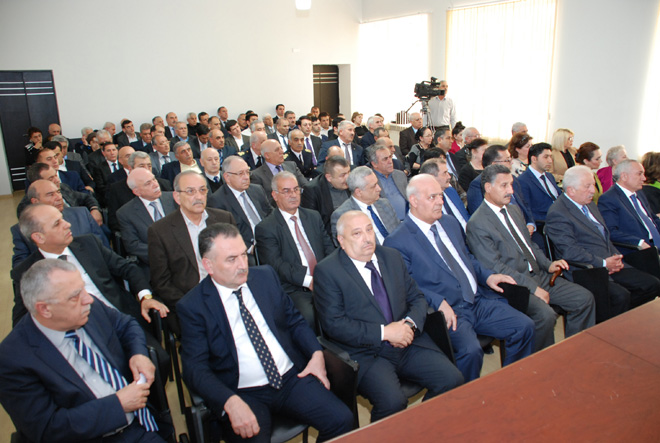 AHİK ümummilli lider Heydər Əliyevin anadan olmasının 92-ci ildönümünü qeyd edib (FOTO)
