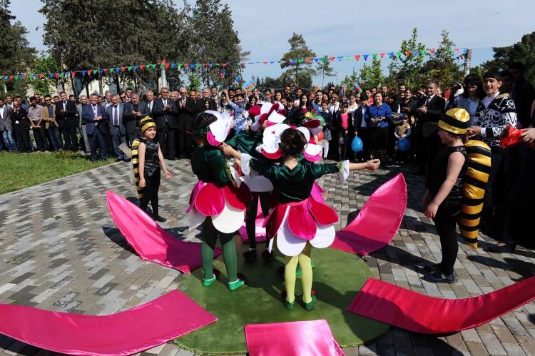 Birinci Avropa Oyunlarının məşəli İmişliyə gətirilib (FOTO,VİDEO)