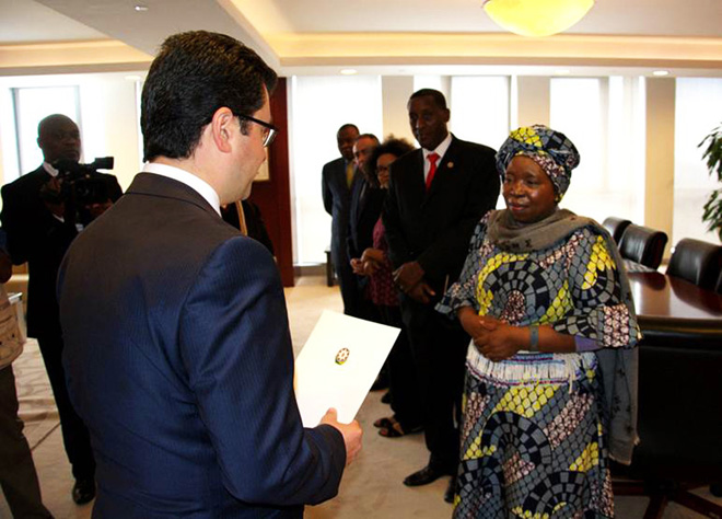 Приступил к работе постпред Азербайджана при Африканском союзе