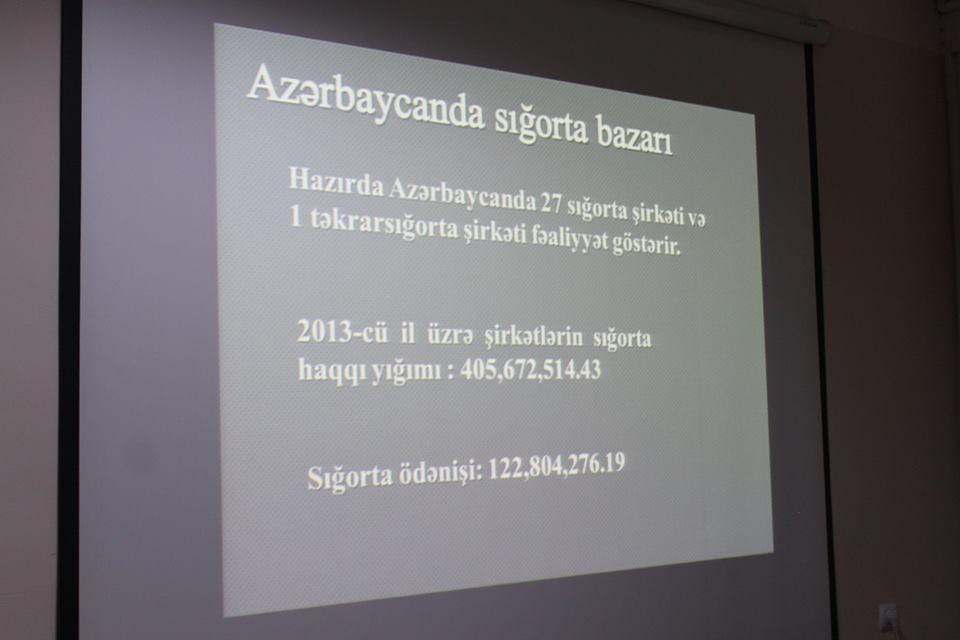 """""""Sığortalı Gənclik"""" layihəsi Azərbaycan Dillər Universitetində"""