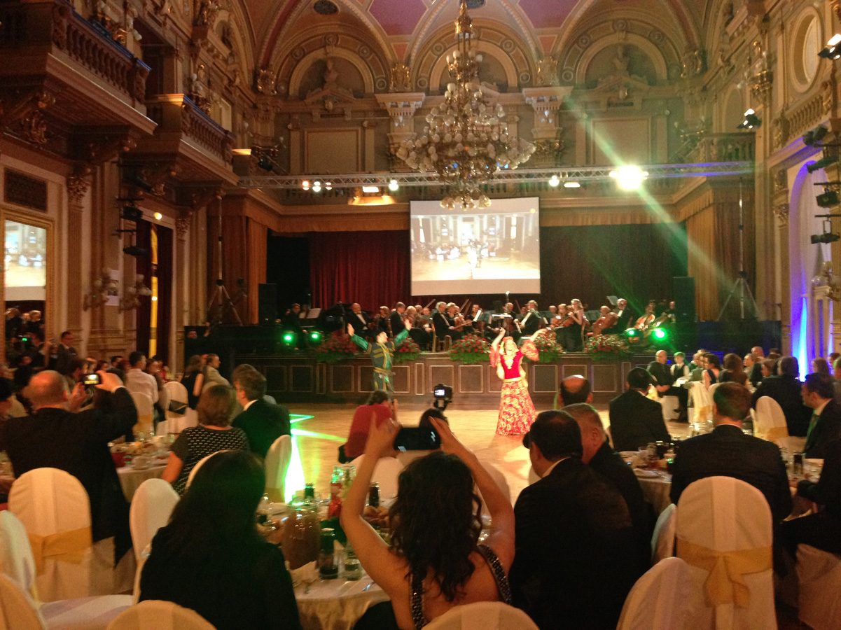 Praqada qala-konsert keçirilib (FOTO)