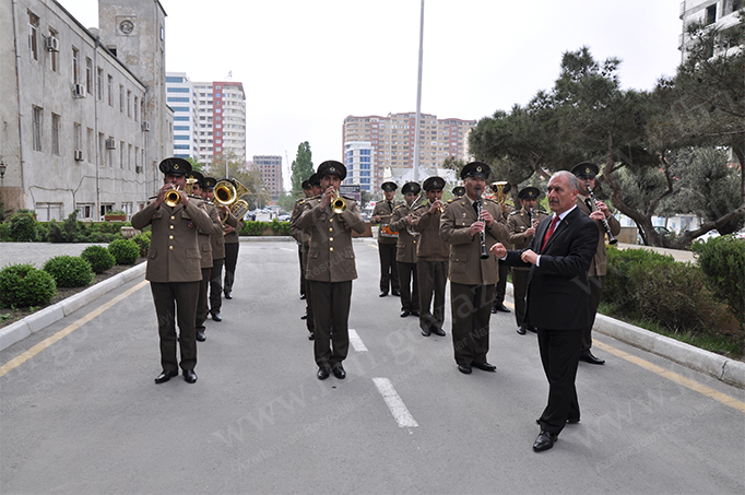 FHN-də 9 may - Qələbə günü münasibətilə toplantı keçirilib (FOTO)