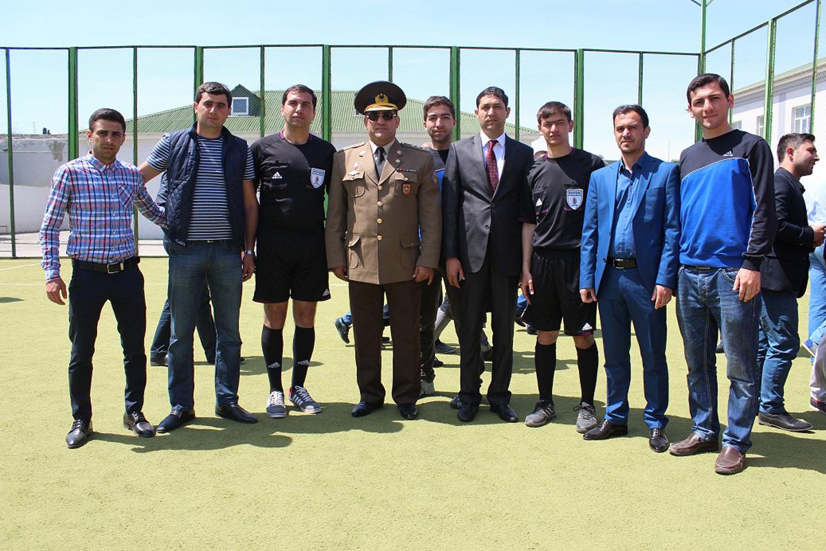 FHN-in qurumları arasında mini-futbol yarışı keçirilib (FOTO)
