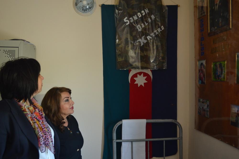 Sədaqət Vəliyeva: Azərbaycan ordusu qarşıya qoyulan vəzifələri qısa müddətdə və yüksək keyfiyyətlə yerinə yetirməyə qadirdir (FOTO)