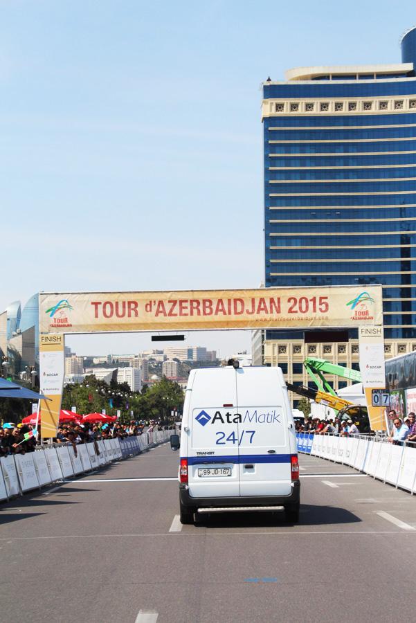 """""""AtaBank"""" """"Tour d'Azerbaidjan"""" bank xidmətləri göstərdi (FOTO)"""