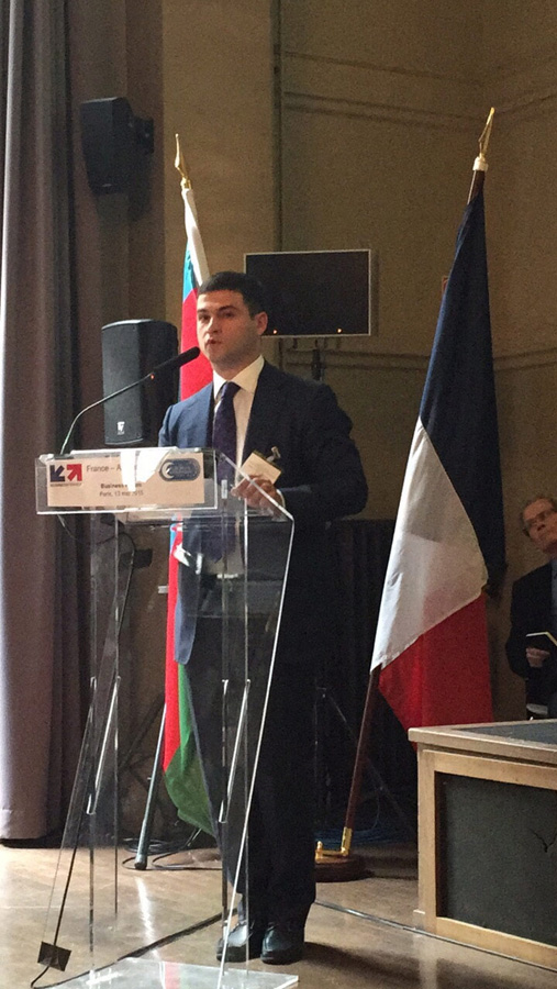 Paris hosts second business forum France-Azerbaijan 2015 (PHOTO)