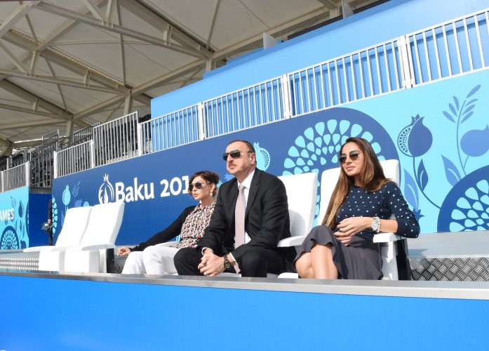 Prezident İlham Əliyev və xanımı Bakıda Avropa Oyunları Parkının açılışında iştirak ediblər (FOTO)