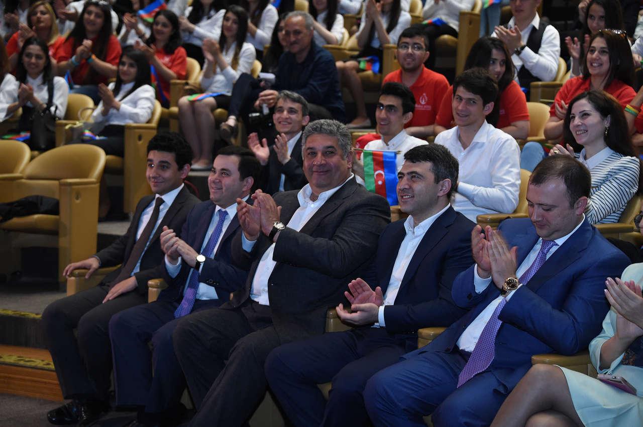 """""""İlk Avropa Oyunları qədim Bakı torpağında"""" klipinin təqdimatı oldu (FOTO)"""