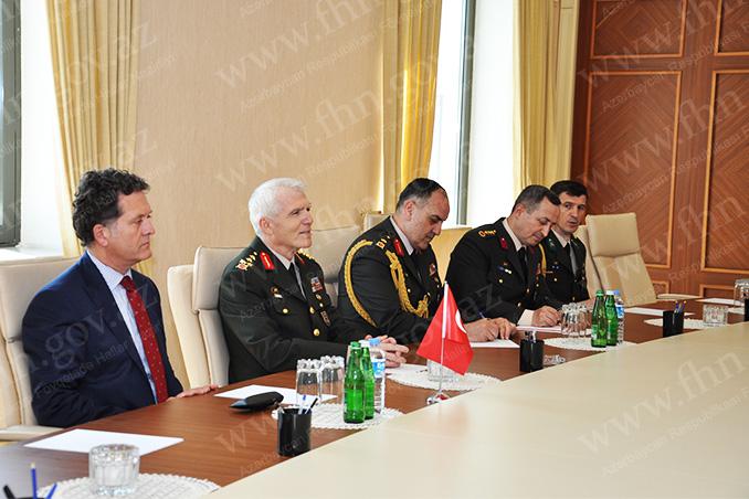 Kəmaləddin Heydərov Türkiyənin ordu generalı ilə görüşüb (FOTO)