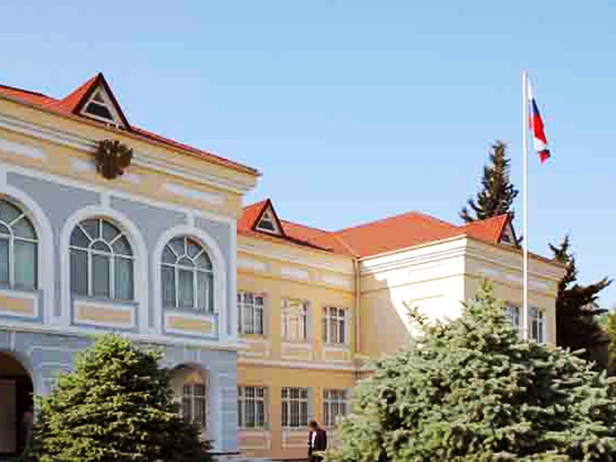 Bakıda Rusiya səfirliyində dövlət bayrağı endirildi